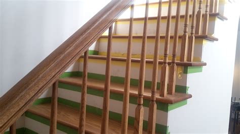 interior stair railing stair railing height for decks rs and interiors