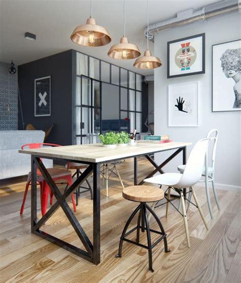 Eclectic Single Bedroom Apartment With Open Floor Plan by Eclectic Single Bedroom Apartment With Open Floor Plan