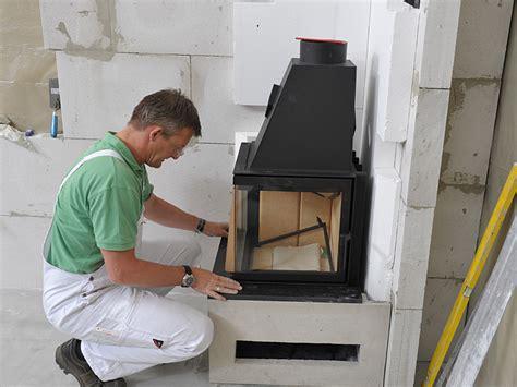 kamin selber bauen montagefreundliche kaminbausaetze