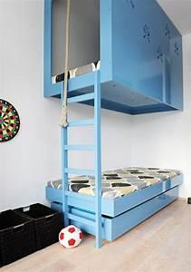 Coole Jugendzimmer Mit Hochbett : das hochbett ein traumbett f r kinder und erwachsene ~ Bigdaddyawards.com Haus und Dekorationen