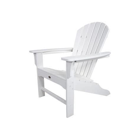 trex adirondack chair kits trex outdoor furniture cape cod classic white patio