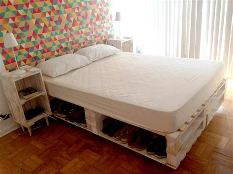 wooden pallet bed ideas pallets furniture wooden
