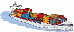 Container Ship Clip Art – Cliparts