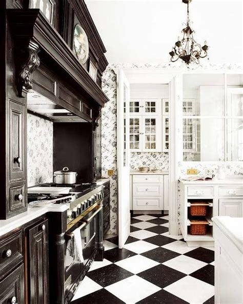 kitchen and floor decor kitchen floor tile black and white home decor report