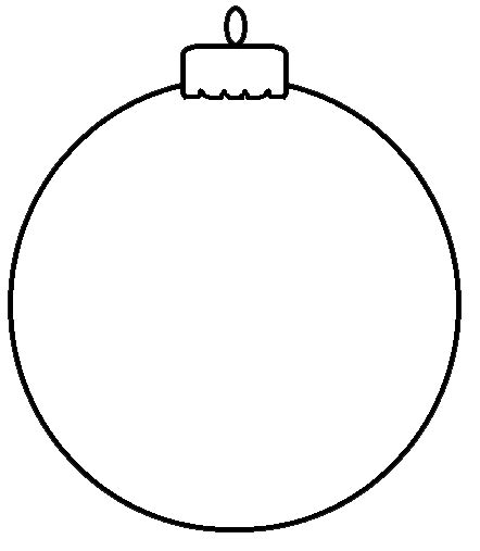 black and white clip art christmas ornaments decorating