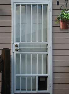 gallery one standard series doors mascotte security With standard door with dog door