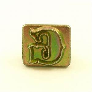 20mm decorative letter g embossing stamp artisanleather for Leather embossing letters