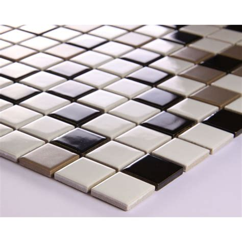 glazed porcelain square mosaic tiles wall designs ceramic
