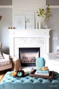 Small Living Room Fireplace Mantel Decorating Ideas