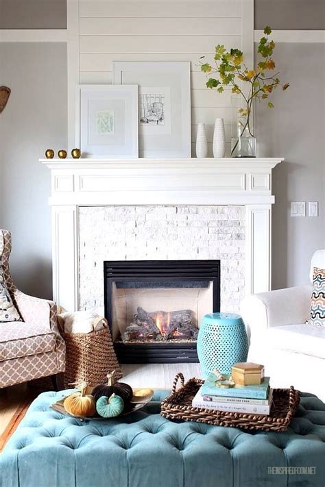 Connecticut Home Clean Crisp Palette by 1000 Ideas About White Fireplaces On