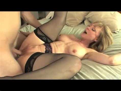 Cougar Nina Hartley Spreads Wide For Young Prick Free Video