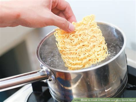 how to make noodles how to cook a noodles and egg quick meal 11 steps with pictures