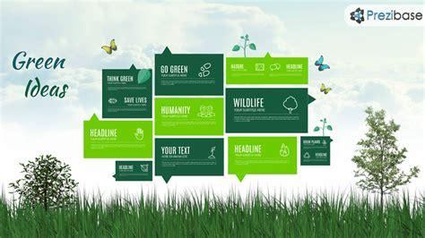 Eco Presentation Templates by Green Ideas Prezi Template Prezibase