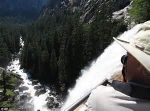 Yosemite National Park Vernal Waterfall Accident Hikers