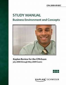 Cpa Exam Review Flashcards  Business Environment And