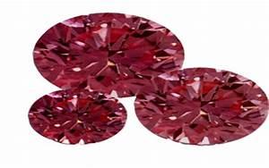 Red Diamond, Rose Cut, Diamond, Semi Precious Stone ...