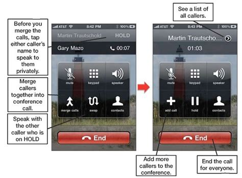 how to merge calls on iphone conference calling iphone 4