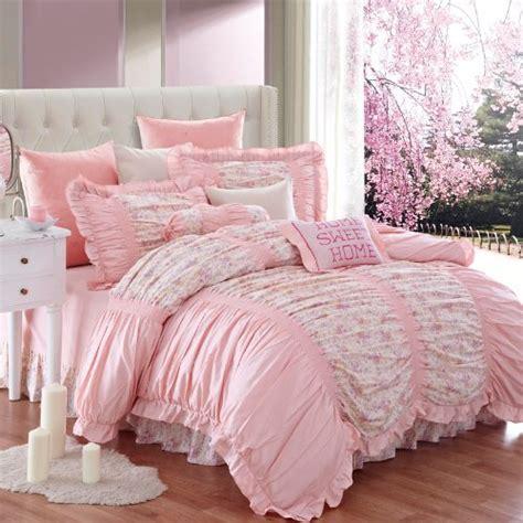 total fab pale pink comforter bedding sets a soft