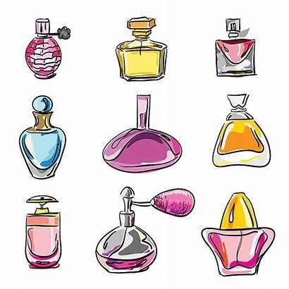 Perfume Bottles Clipart Clip Bottle Parfume Bottiglie