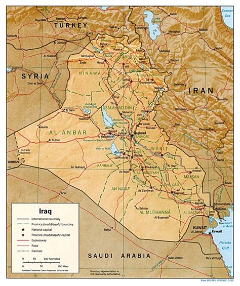 maps  iraq map library maps   world