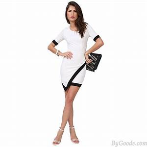 sexy ourlet long manche blanc robes robes de mode With amazing commenter obtenir les couleurs 3 photos de mode femme love