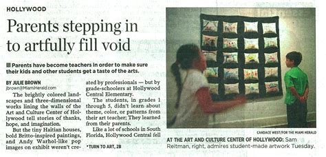 centers arts education featured  miami herald art