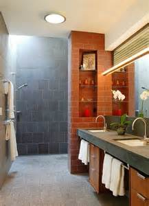 bathroom shower design ideas doorless shower designs teach you how to go with the flow