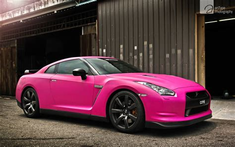 pink nissan gtr wallpaper hd car wallpapers id