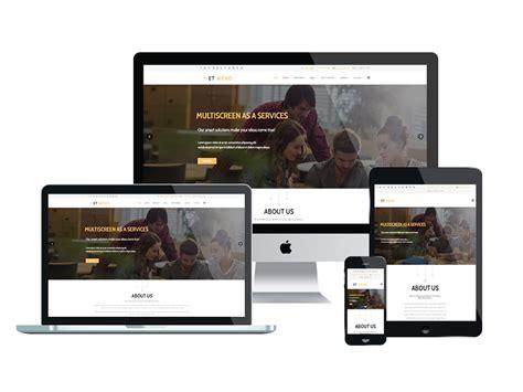 responsive web design template et wevo free responsive web design joomla templates