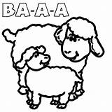 Sheep Coloring Sound Pages Pig Peppa Suzy Template Sheet Which sketch template