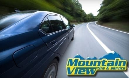 mountain view tire service candler nc groupon