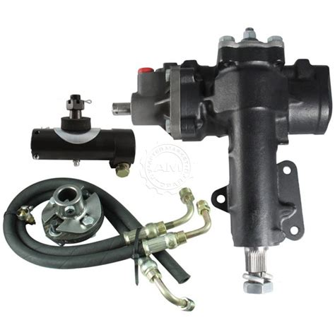 borgeson power assist to power steering box conversion kit for 67 82 corvette ebay