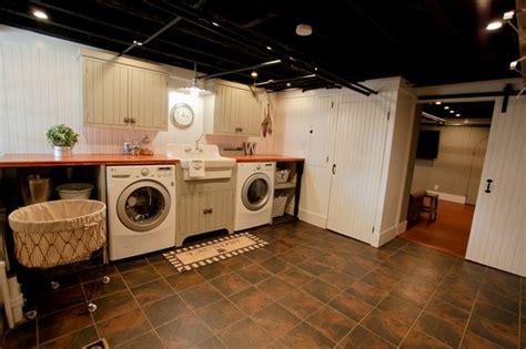 basement laundry room ideas  furniture tips deavita