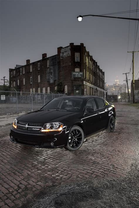 dodge expands blacktop edition packages to 2013 avenger charger r t and challenger r t carscoops