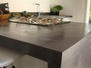 Arbeitsplatte Aus Beton : k chenarbeitsplatte betonoptik ~ Sanjose-hotels-ca.com Haus und Dekorationen