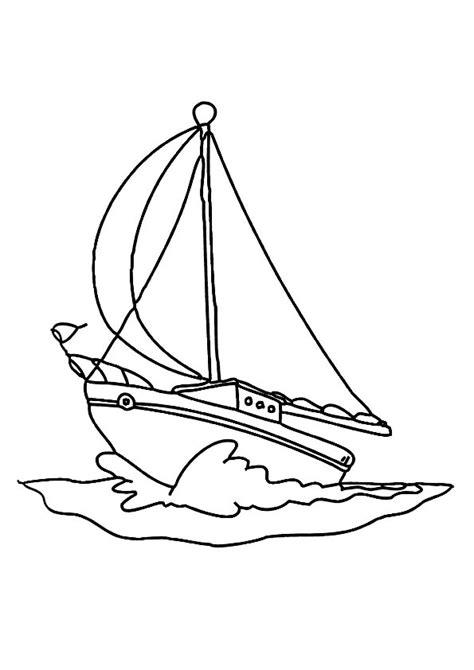 coloring pages printable boat coloring pages