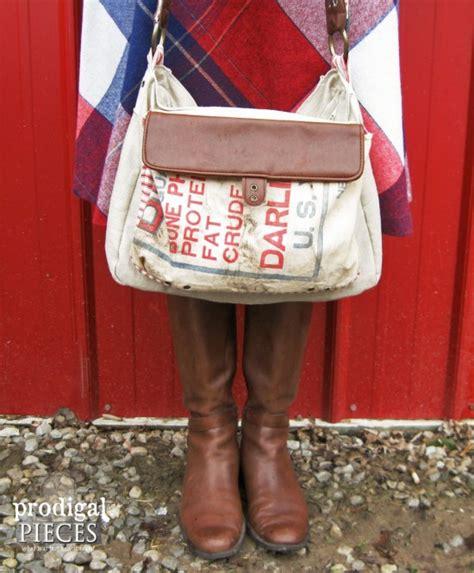 Farmhouse Friday #13 - Grain Sacks, Feed Bags and Burlap