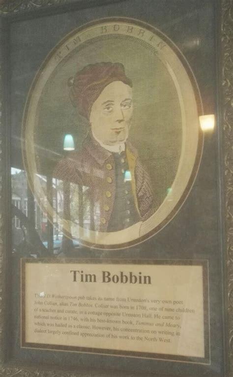 bobbin tim urmston text illustration