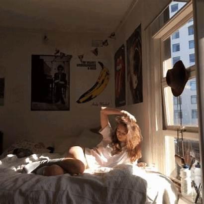 Bedroom Morning Aesthetic Sunshine Dorm Inspo Decor