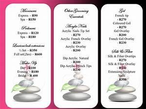 massage price list template best free home design With massage price list template