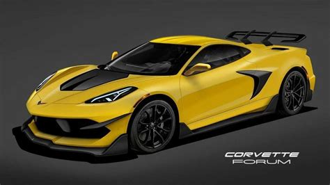 mid engined  chevy corvette zr rendered imagining