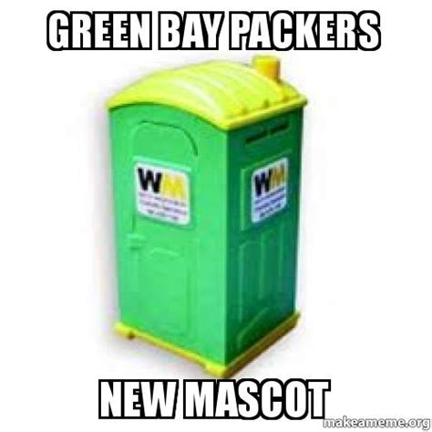 Packers Suck Memes - green bay packers new mascot green bay sucks make a meme