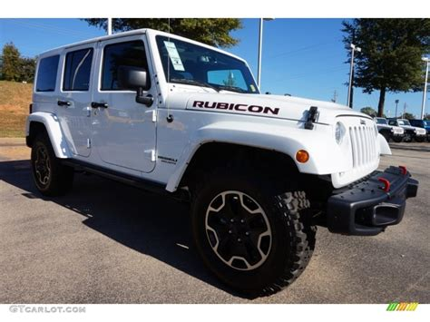 white jeep 2016 bright white 2016 jeep wrangler unlimited rubicon hard