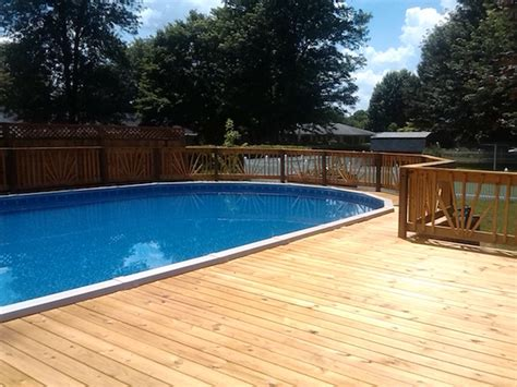remodeling bathrooms ideas above ground pool decks above ground pool deck plans