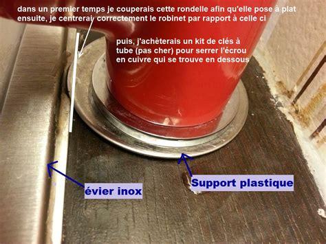 probleme fixation robinet mitigeur cuisine