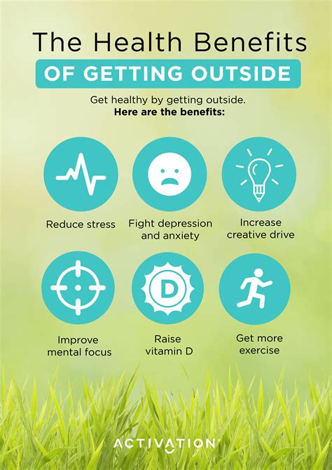 5 Health Benefits of Getting Outside | Activation Products
