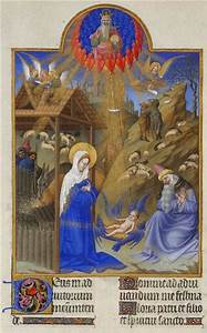 The, Nativity, -, Limbourg, Brothers