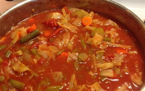 cabbage fat burning soup