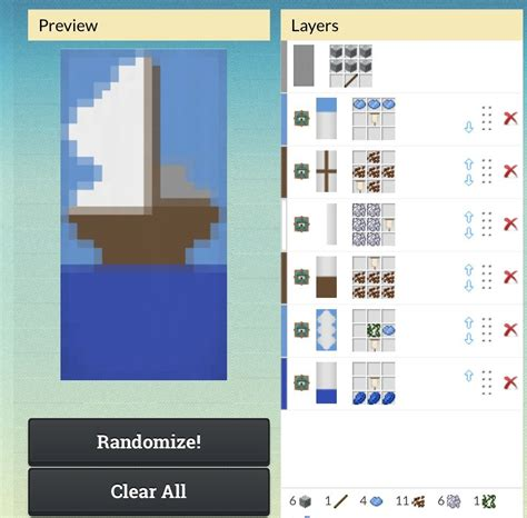 Minecraft Boat Banner ship banner minecraft banners ships and