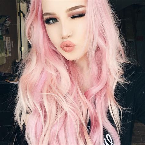 Pink Hair Dont Care Yaass Girl Hailie Is Perfect In